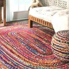 Purple Oval Braided Braided Rugs Clearance Fresh Red Area Rugs ...