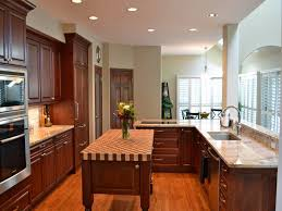 Teak Wood Kitchen Cabinets Kitchen Wood Block Countertop Beige Ceramic Table Bar Teak Wood