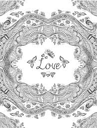 I Love You Coloring Pages For Adults Free Books And Projectelysiumorg