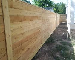 horizontal fence styles. Horizontal Wood Fence Style Styles L