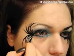 fallen angel dark fairy makeup makeup