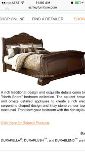 Ashley Furniture North Shore Bed Review from Corpus Christi Texas