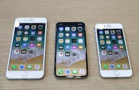 iphone 8. iphone 8 plus, x dan 8. foto: reuters iphone