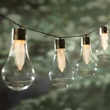 Solar Powered String Lights Lowes Pinterest