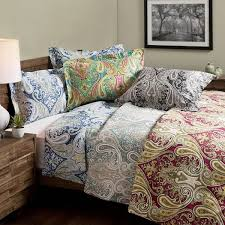 crystal palace 100 percent cotton print 3 piece duvet cover set