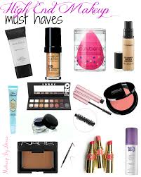 high end makeup must haves makeupbydoree