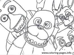 Fnaf Coloring Pages 216 Magnificent Fnaf Sister Location Coloring