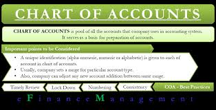 T Chart Accounting Example Chart Of Accounts Example