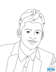 Kleurplaat Shawn Mendes Coloriage Denzel Washington Coloriages
