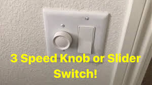 installing a wall switch 3 sd for ceiling fans