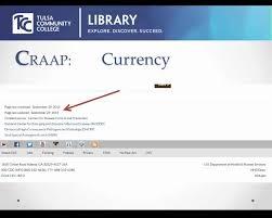 Craap Test Craap Test For Website Evaluation