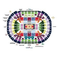 Verizon Center Seating Chart Capitals Capital One Arena Seating Charts