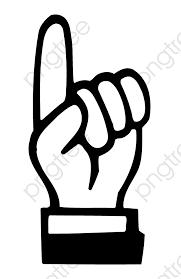 手描きの人差し指で手真似をクリックして 手描き ベクトル ジェスチャー