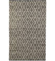uttermost 71144 5 winnow 96 x 60 inch hand woven leather rug 5ft x