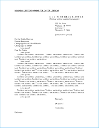 Business Cover Letter Format 1862