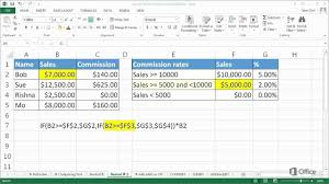 training advanced if functions in excel 2016 nested if functions 2 of 5 you