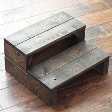 Step Stool For Bedroom Super Simple Kids Diy 2x4 Wooden Step Stool Beckham Belle