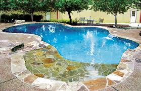 beach entry swimming pool designs. Wonderful Beach Zero Beach Entry Swimming Pool With Cascade Waterfall And Diving Rock  And Beach Entry Swimming Pool Designs O