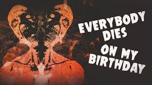Corey Taylor - <b>Everybody Dies</b> On My Birthday [OFFICIAL LYRIC ...