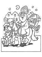 Sinterklaas Kleurplaten Knutselpaginanl Knutselen Knutselen