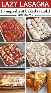 lazy lasagna 3 ing baked