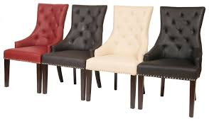 leather restaurant chairs. Fontwell Smart Leather Dining Chair Buttoned Back - Restaurant Chairs Direct From The Contract Furniture Importer Interiors M