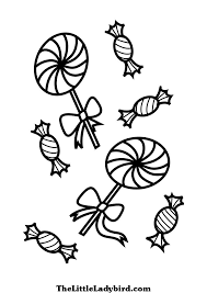Small Picture lollipop coloring pages to print Coloring Page of Lollipops and