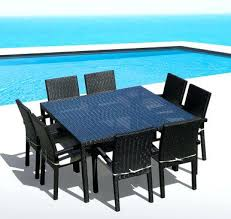 wicker outdoor dining table dining table chair set image 1 wicker outdoor dining chairs melbourne wicker outdoor dining table