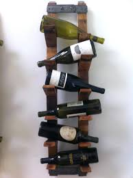 hanging wine rack used for towels wall bed bath beyond wood plans