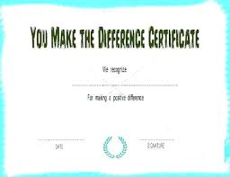 Baby Certificate Maker Impressive Fake Th Certificate Template You Make The Difference Free Premium A
