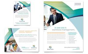 Training Flyer Templates Free Business Training Flyer Ad Template Word Publisher