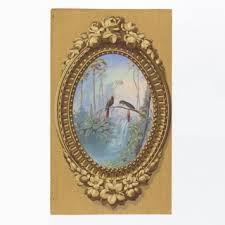 mirror frame drawing. Simulation Of Elaborately Carved Wood Frame, Oval, Brought To The Rectangle Mirror Frame Drawing