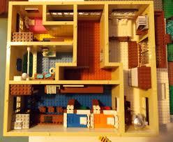 Lego House Plans Modern House Lego Modern House