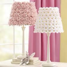 lighting for girls room. pottery barn lamps for little girls room lighting