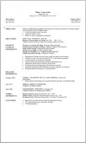Recent Graduate Resume Reasons This Is An Excellent For College