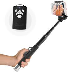 Bluetooth Selfie Stick with Multifunction - Version for iPhone 6s, 6s Plus,  6, 6 Plus,5 5c 5s 4s,LG G2, Samsung Galaxy S6 S5 S4 S3 Note 2/3/4 and Other  Android Smartphones-(Controlled via