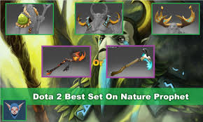 dota 2 nature s prophet mix set sufferwood sapling scythe of vyse