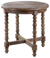 elegant rustic reclaimed wood round samuelle wooden end table rustic round rustic round end table designs