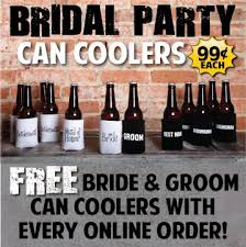 18 best wedding party can coolers images on pinterest coolers Wedding Wine Koozies these are the perfect idea and are only each with your koozie order! wedding wine koozies