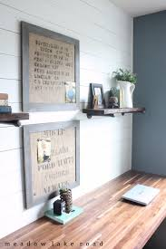 home office decor. DIY Home Office Decor Ideas - Industrial Pipe Shelves For The Do It G