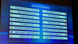 champions league round of 16 draw bayern v nal paris v barcelona uefa champions league news uefa com
