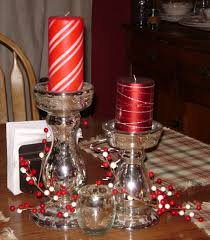 Simple Candle Decoration Acrylic Candle Holder Best Decoration For Christmas Centerpiece