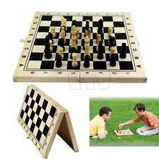 Wooden Board Games Uk Quality Classic Wooden Board Game Set Travel Games Chess 100cm by 92