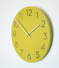 inch large modern wall clock