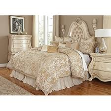 michael amini bedding. Unique Michael Michael Amini Luxembourg 12 Piece Comforter Queen Creme Throughout Bedding U