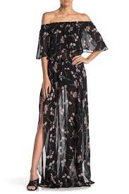 Flynn Skye Size Chart Flynn Skye Miranda Floral Maxi Dress Hautelook