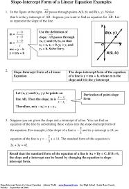 ab passes through x y and 0 b so