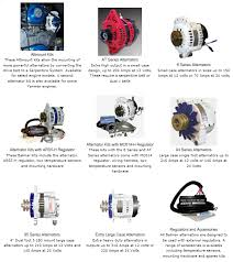 installing a high power alternator in your boat everything more than 110 amps for a 12 volt system will require either double belts or a serpentine belt the picture below shows you the wide selection of