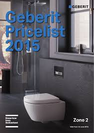 geberit list 2016 zone 2 valid from 1st june 2016 geberit concealed technology secrets of beautiful bathrooms geberit inwall cistern more space