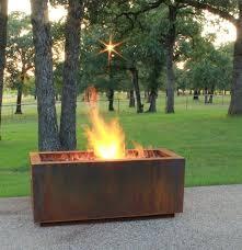 wood burning patio fire pits. Homely Idea Rectangular Wood Burning Fire Pit Decoration Ideas 10 Of The Best Modern Firepits Pits Outdoor Kits Patio .